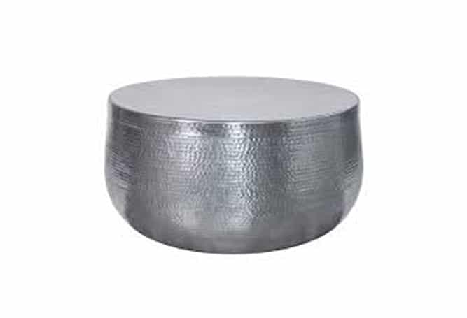 Noma Coffee Table Silver
